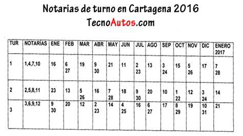 Calendario Cartagena 2016 Notarias De Turno Los S 225 Bados En Cartagena Para El A 241 O