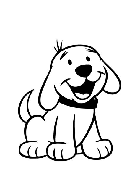 free clifford coloring pages