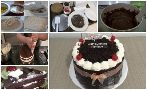 cara membuat ice cream black forest jadi tunggu apalagi bunda segera sajikan dan hidangkan kue
