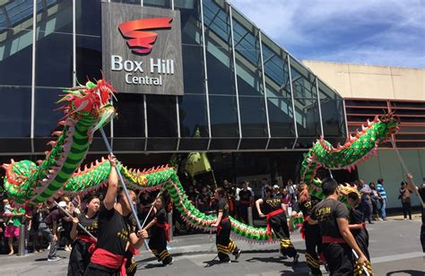 new year parade box hill recap box hill central celebrates the year of the rooster