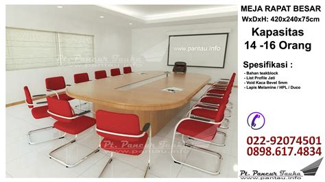 Meja Rapat Kantor meja rapat besar kursikantor123