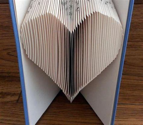pattern art book book folding pattern heart craftsy