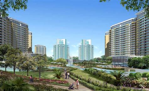 bellevue appartments central park 2 bellevue central park ii sector 48 gurgaon
