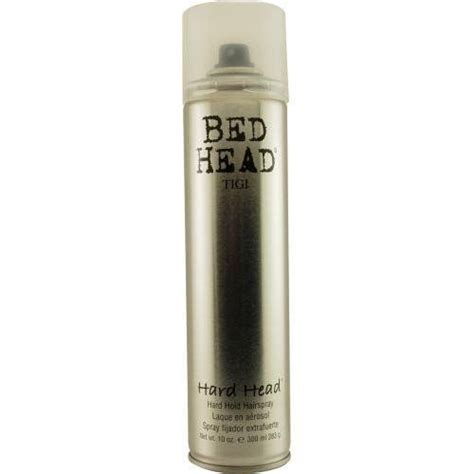 bed head hair spray tigi bed head hard head hair spray products i love