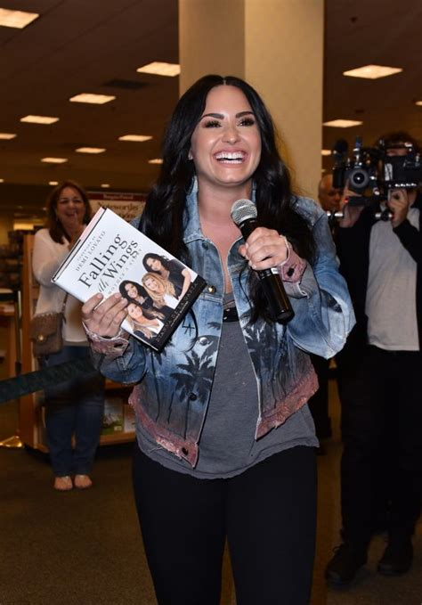 book demi lovato for a party demi lovato book signing of her mother s new book in la