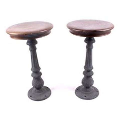 antique cast iron bar stools antique virginia city montana cast iron bar stools