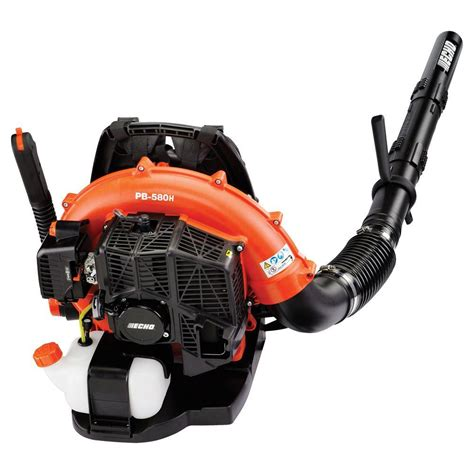 echo 215 mph 510 cfm 58 2cc gas backpack leaf blower with