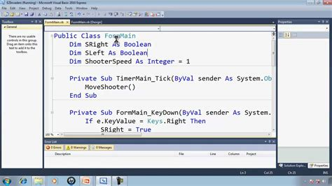 tutorial visual basic express 2010 visual basic express 2010 tutorial 34 programming the