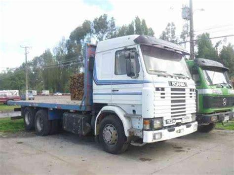 camionetas usadas en temuco chile camiones usados temuco camion scania 113 6x2 a 241 o 1992 con carroceria plana