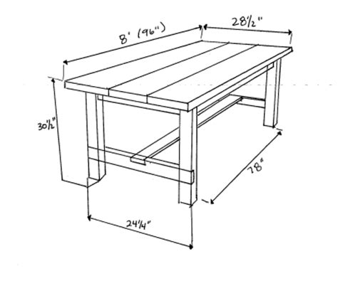 farmhouse table reveal plans storefront