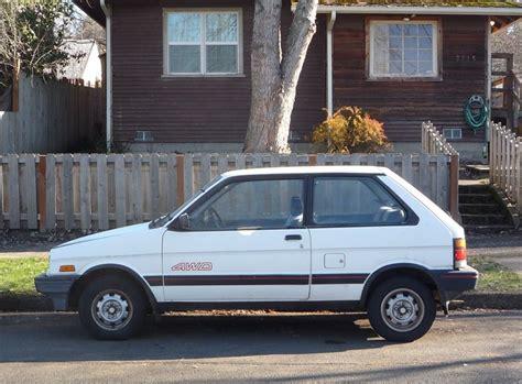 car repair manual download 1991 subaru justy on board diagnostic system curbside classic subaru justy extra justification