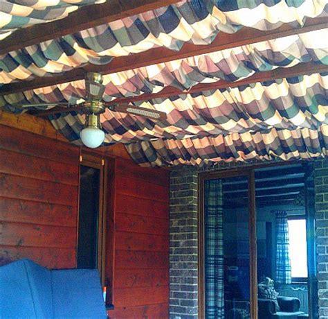 einfache terrassenüberdachung decke pergola idee