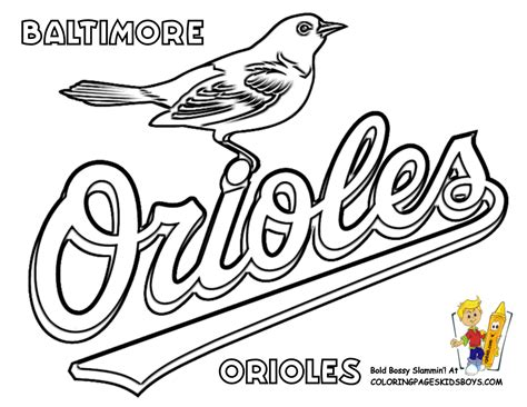 Free Baseball Team Logo Coloring Pages Mlb Logo Coloring Pages