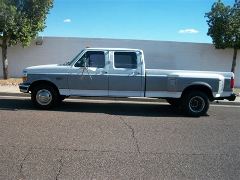 1994 ford f350 1994 ford f 350 crew cab 4dr dually 7 3 turbo diesel