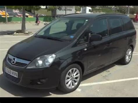 opel zafira 2010 2010 opel zafira review youtube
