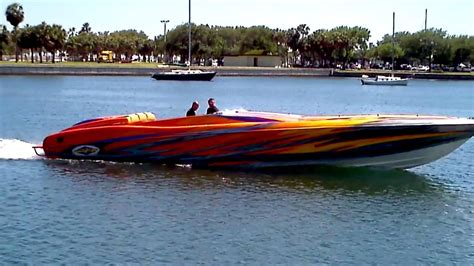lamborghini boat sound nice cigarette boat what a sound doovi