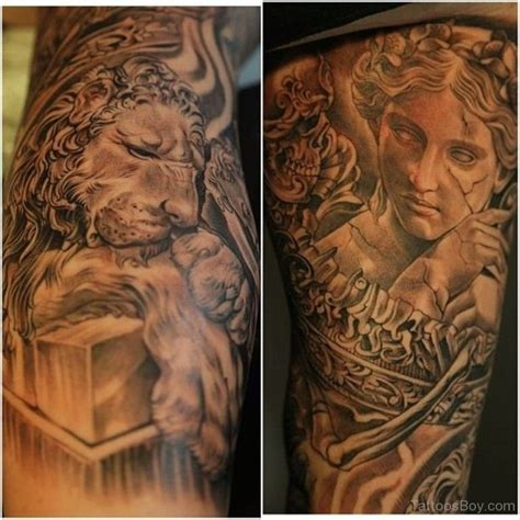 Tattoo Lion Angel   lion tattoos tattoo designs tattoo pictures page 30