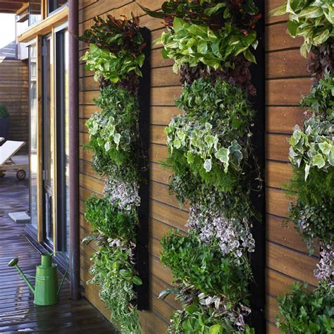 Outside Wall Planters by Living Wall Planter Large Vertical Garden The Green