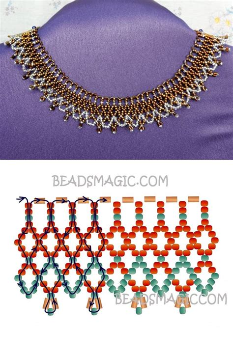 seed bead choker patterns 2980 best beading patterns images on bead