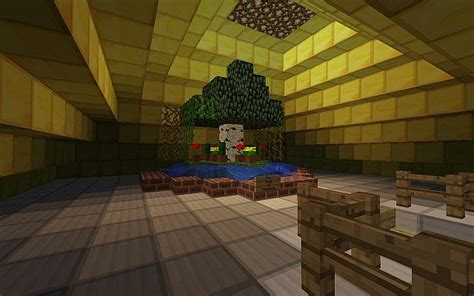 The Tree Of The Tower Room mage tower of goodness minecraft project
