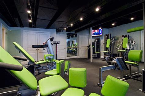 exercise room eclectic home chicago by michael