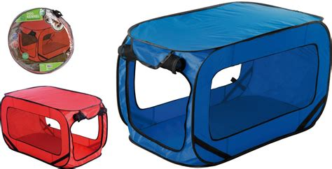 pop up dog house buy 3 get 1 free dog cat kennel folding pop up house portable cing travel ebay