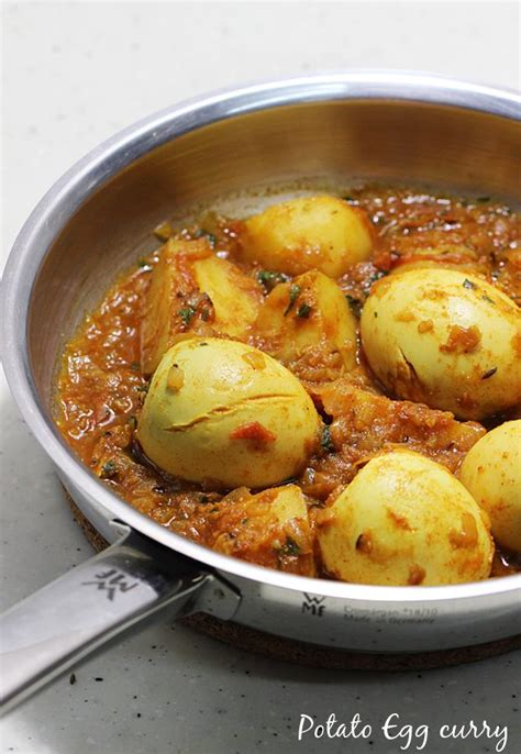 egg recipes aloo egg curry potato egg curry recipe
