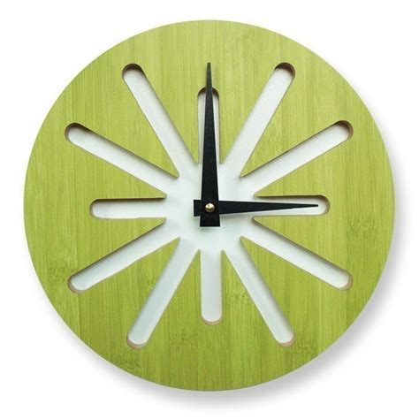 cool clock vitamini handmade cool clocks