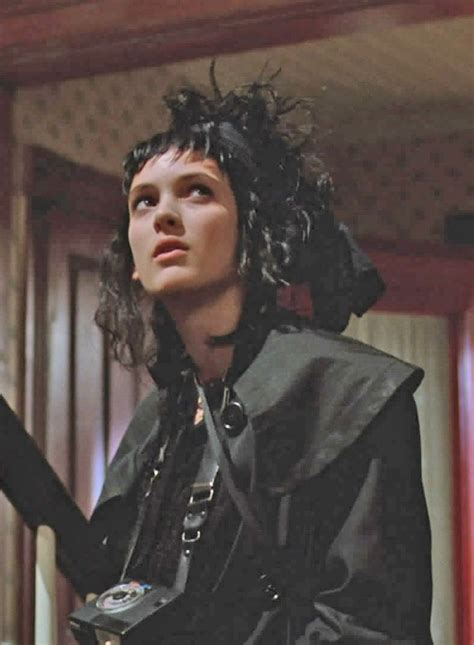 lydia deetz hairstyle 17 best images about winona ryder on pinterest seventh