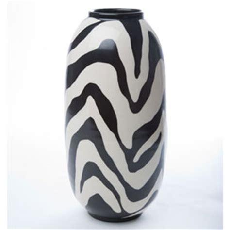 Zebra Print Vases by Zebra Print Torpedo Vase By Wayland Gregory Ceramics