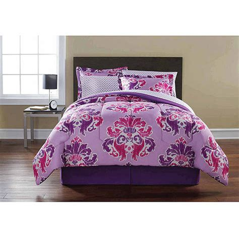 Mainstay Bedding Set Mainstays Puteri Ikat Complete Bedding Set Walmart