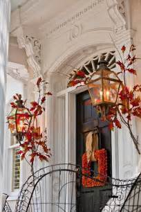 Front Door Fall Decor 47 And Inviting Fall Front Door D 233 Cor Ideas Digsdigs