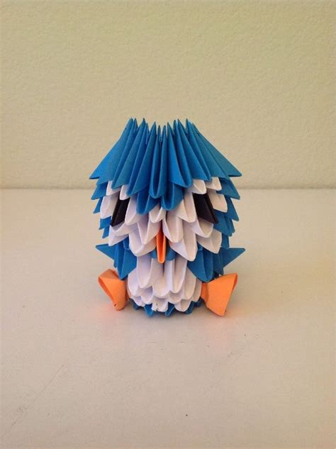 3d origami penguin tutorial español 50 best origami for your wedding seating plan images on