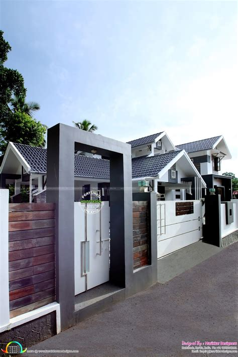 kerala house compound wall designs photos kerala house compound wall designs photos
