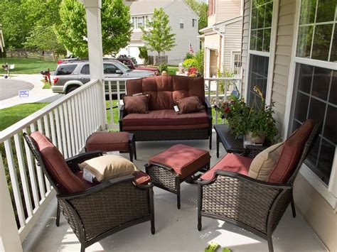 porch furniture make your porch appealing with elegant front porch
