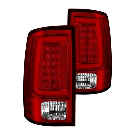 fiber optic tail lights spyder 174 ram 2500 with factory incandescent tail lights