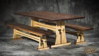 Japanese Trestle Bench PDF Plans round picnic table plans free   no1pdfplans freewoodplans