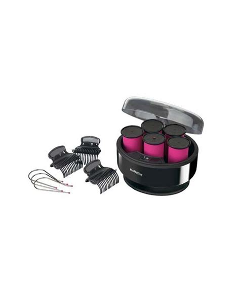 Babyliss Hair Dryer Roller babyliss 3038e curl heated rollers black price in india buy babyliss 3038e curl heated rollers