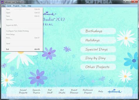 hallmark card templates free hallmark card studio deluxe