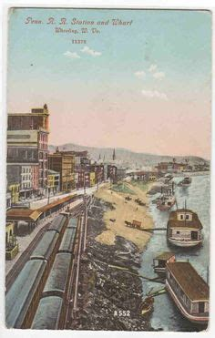 boat ride wharf dc erie and lackawanna railroad yards and lots of trains in