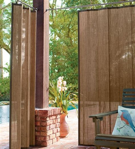 outdoor deck curtains best 25 outdoor curtains ideas on pinterest patio