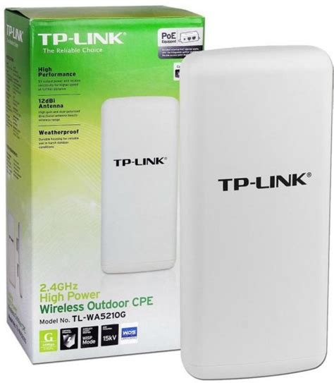 Router Tp Link Outdoor Tp Link Tl Wa5210g High Power Wireless Outdoor Cpe Access