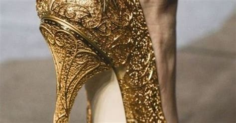 N6 Dolcee And Gabbana Shoes 600 1 03 dolce gabbana gold gilded heels fabulous shoes gold masquerades and shoe boot