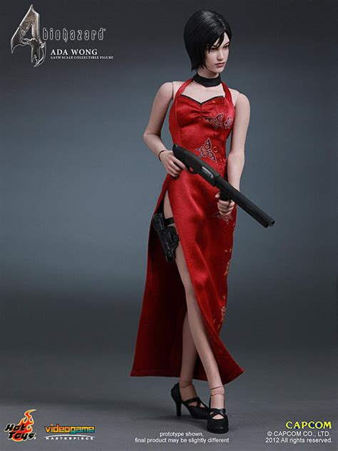 Toys Ada Wong Ceongsam Ver toys vgm16 biohazard 4 hd 1 6th scale ada wong collectible figure youbentmywookie