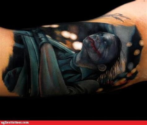 dark knight tattoos the joker tattoos