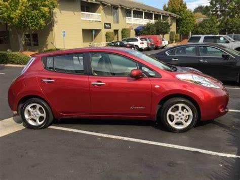 nissan leaf ads nissan leaf sl for sale loaded santa electric