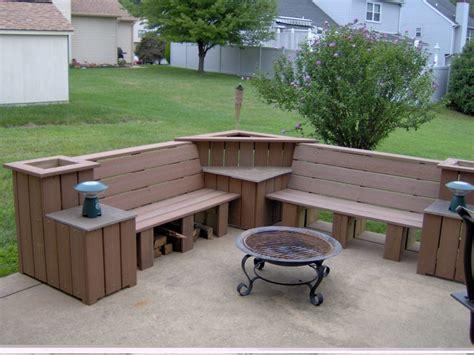 outdoor corner bench with storage best home design ideas