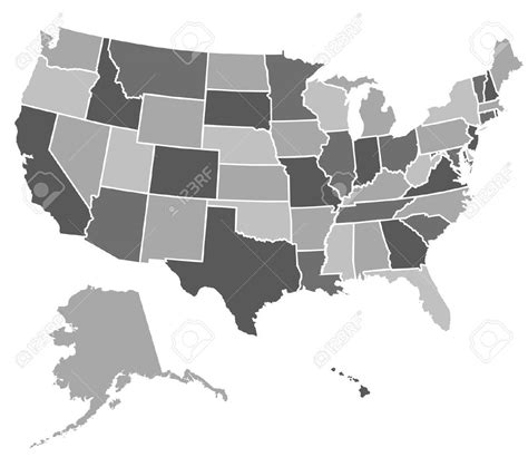 map of the united states vector us map in vector format 8106883 map of the united states