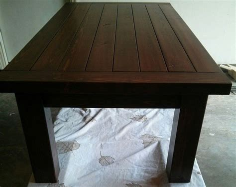 ana white heavy duty tryde coffee table diy projects