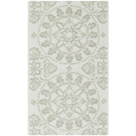 martha stewart rugs home depot safavieh martha stewart terraza shale 2 ft 6 in x 4 ft 3 in area rug msr1462b 3 the home depot